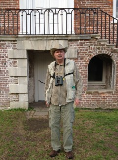 Bob Savage, birding - 3-20-13, cropped
