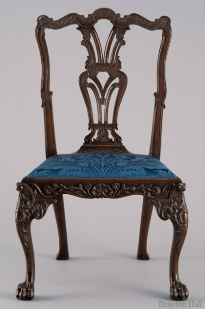Colonial Williamsburg Object: Drayton Side Chair