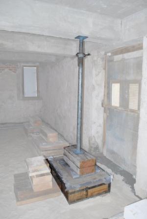Preservation FAQ: Portico Shoring Posts