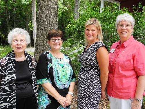 From left to right: Peggy Reider, Pattie Jack, Amanda Franklin, and Betsy McAmis.