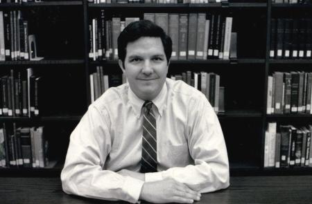 George W. McDaniel in 1989, shortly after becoming executive director of Drayton Hall.