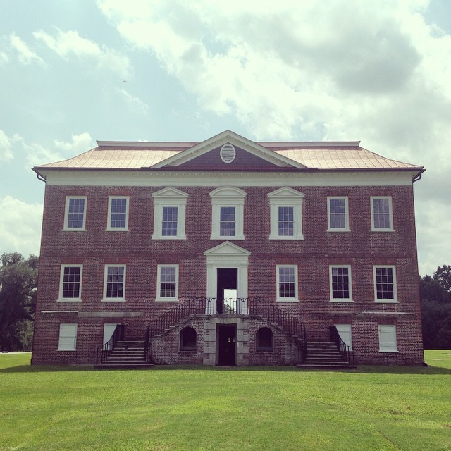 Drayton Hall Windows Before