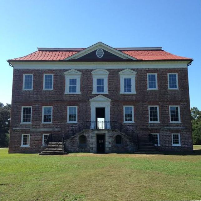 Drayton Hall windows after