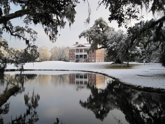 Drayton Hall Snow