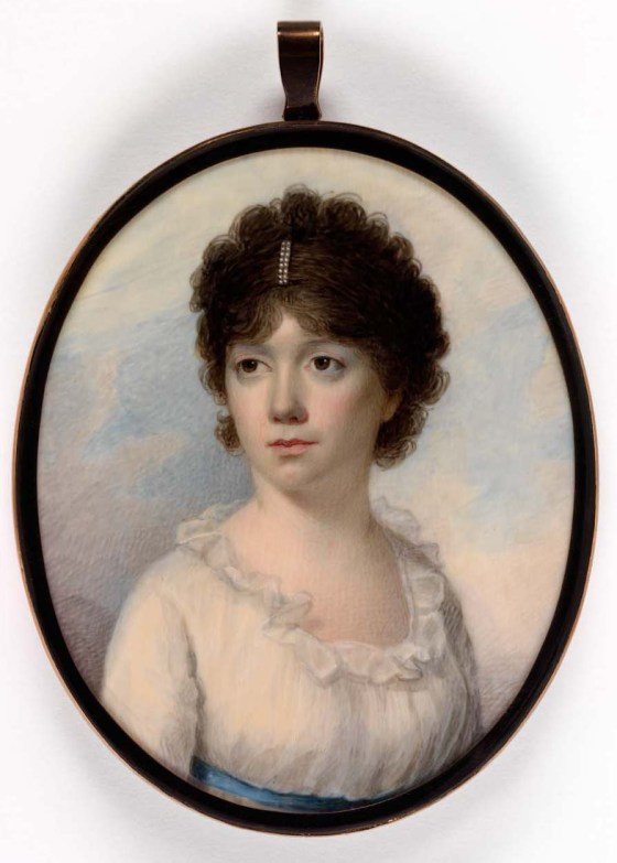 Mrs. Joseph Manigault (Charlotte Drayton) by Edward Greene Malbone, c. 1801. Image courtesy of the Smithsonian American Art Museum. Gift of Pearl G. Manigault.