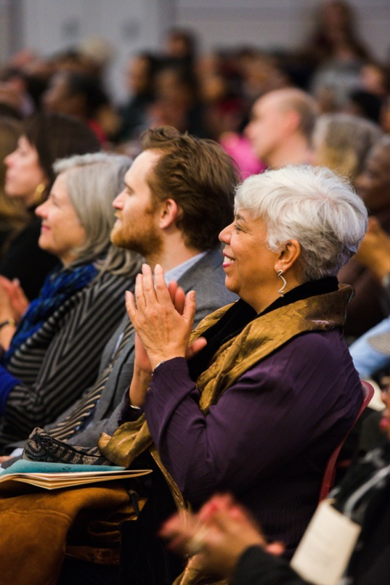 Audience at MTW. Photo by Fred Stucker.