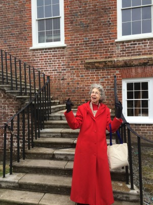 Drayton Hall Historic House Interpreter Rosemary Giesy, who was described at the