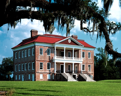 Drayton Hall, a National Historic Landmark and property of the National Trust for Historic Preservation, Charleston, South Carolina.